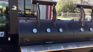 24''x72'' Trailer BBQ Pit & Smoker by Lone Star Grillz