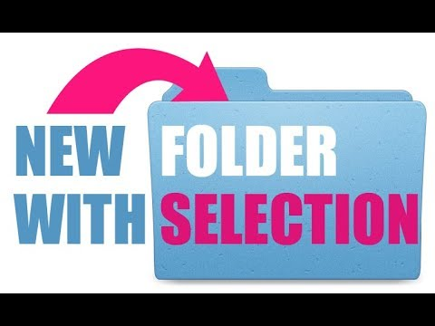 How To Make a New Folder With Selection on a Mac