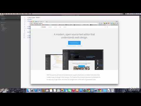 HTML5 AND CSS3 CREATE A WEBSITE IN HTML CSS AND PHP TUTORIALS | 06 Brief outline on page structure