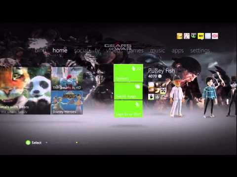How to change the HD settings on the Xbox 360