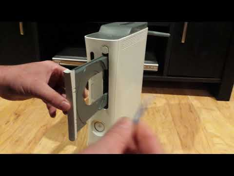 How to fix Xbox 360 stuck disc tray, EASIEST WAY EVER!!
