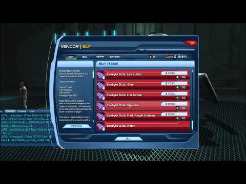 Where is the Legends vendor in dcuo for heroes and villains