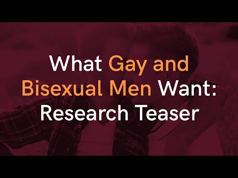 What Do Gay & Bi Men Really Want In A Partner? It's Not What You Think...
