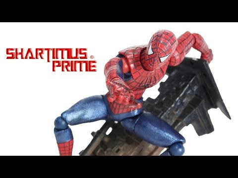 Revoltech Spider-Man 3 Movie Import Action Figure Toy Review