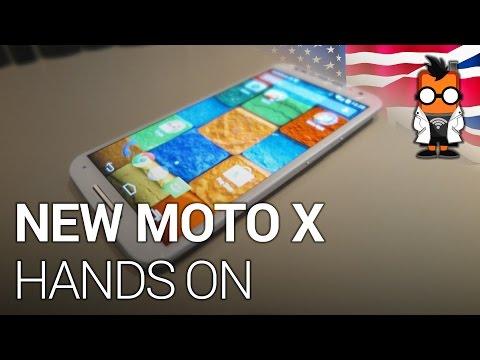 New Motorola Moto X Hands On - 5.2 inch FullHD Smartphone
