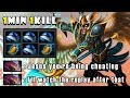 Skywrath Mage WTF IMBA Deleted Pangolier Mid With 1MIN 1KILL And 23MIN GG FullGame Dota 2 722f