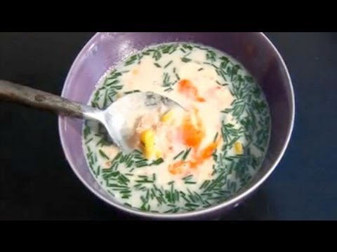 Smoked Salmon Chowder Recipe- Five Minute Food