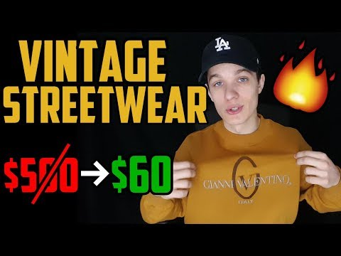 How to Buy Vintage Streetwear (EASY AND CHEAP)