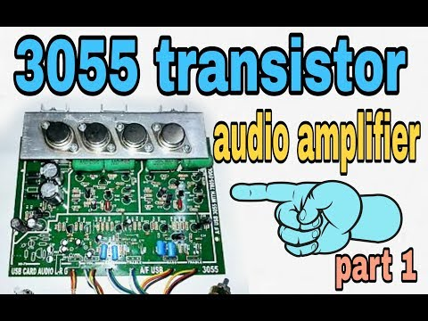 How to make 150W audio amplifier circuit using transistors wiring and unboxing(100% working 'korba')