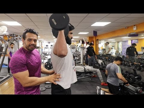 Do Not Copy Others in the Gym -  Shoulders Hutiyapa   FitMuscle TV