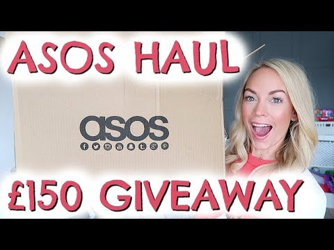 HUGE ASOS HAUL & £150 GIVEAWAY WITH CHANNEL MUM