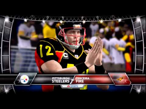 Superbowl Madden 12 Created Team Franchise Fire vs Steelers: Be Part of Next Years Team: Helicopters