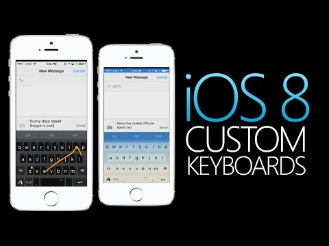 How To Add Custom Keyboards - iOS 8 Tips & Tricks