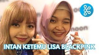 Intan Ketemu Lisa BLACKPINK di Jakarta