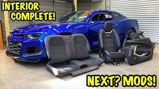 Rebuilding A Wrecked 2018 Camaro ZL1 Part 18