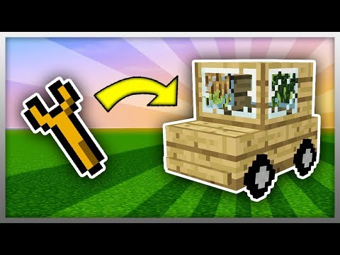 ✔️ How to Build Your Own CAR in Minecraft!