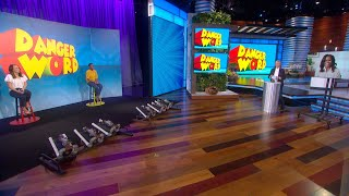 Ellen and Michelle Obama Get Competitive in 'Danger Word'