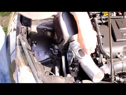 Chevy Cruze cold air intake how to install Turbo 2014 K&N