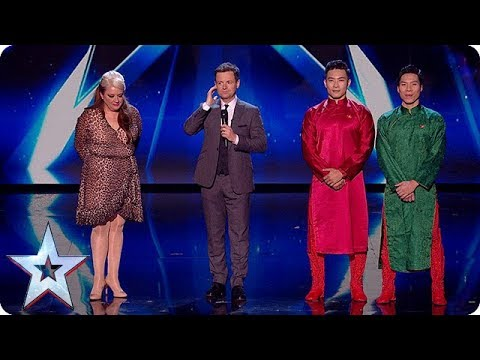 Through to our LIVE FINAL - it's Micky P Kerr and Giang Brothers!   Semi-Finals   BGT 2018