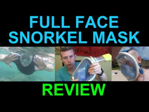 Full Face Snorkel Mask for Easy Breathing Review Best Snorkeling Gear Ever