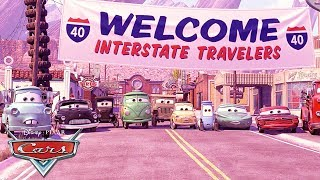 The History of Radiator Springs! | Pixar Cars