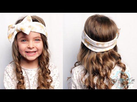 Easy Toddler Headband Hairstyle | Pretty Hair is Fun