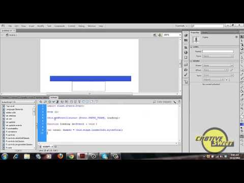 How to create a PreLoader bar in Adobe flash CS6 - Action Script 3.0