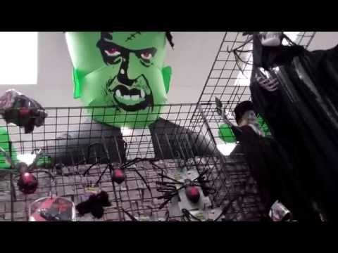 Halloween Decorations 2015 in a Halloween Store
