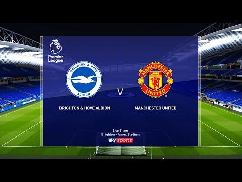 Brighton vs Manchester United - EPL 30 June 2020 Gameplay