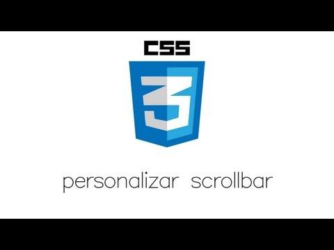 tutorial html y css | personalizar scrollbar en css3