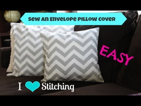 Sew an Envelope Pillow Cover: Beginner