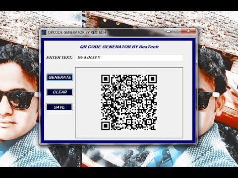 Make your own QR code Generator Easily in VB.Net!! With Source Code