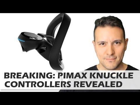 BREAKING: Pimax Reveals Knuckle Controller Design Update