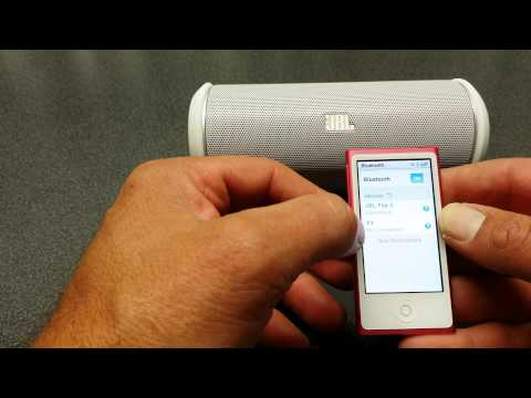 APPLE ipod Nano UNBOXED 7th Gen. How to Connect Bluetooth Speakers [HD]