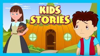 Kids Stories : The Lazy Girl and The Jack and The beanstalk  || Animated Stories For Kids