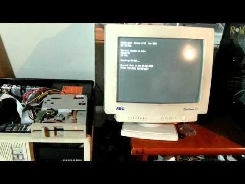 Boot do PC-XT no MS-DOS 6.22