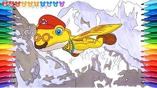 How To Draw Super Mario Odyssey Princess Peach 251