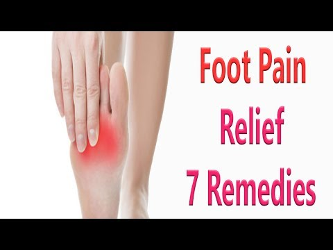 7 Remedies For Foot Pain Relief | How To Get Rid Of Foot Pain