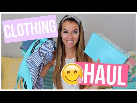 BACK TO SCHOOL CLOTHING HAUL 2016!