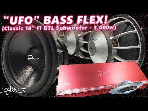 UFO BASS FLEX! Classic Fi BTL 18