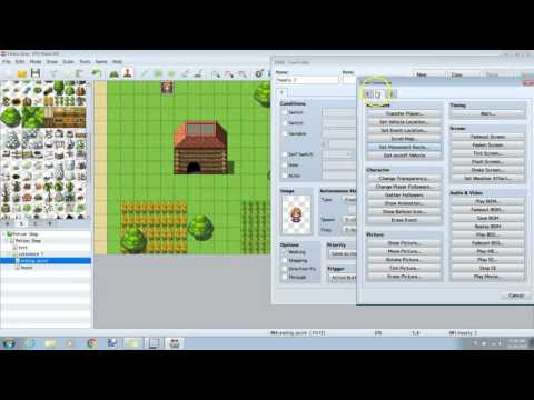 RPG Maker MV Tutorial -How to make in-game Cutscenes-
