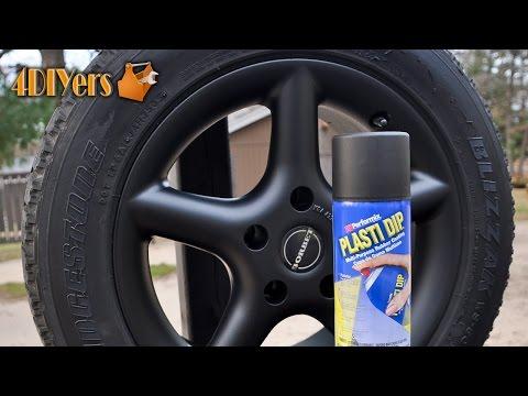 DIY: How to Plasti Dip Wheels