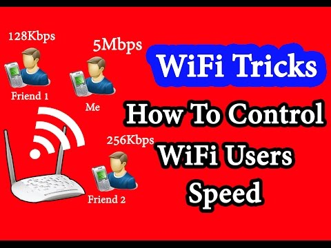 How To Block WiFi  Speed of Other Users on your Network   TP Link WiFi Router Settings
