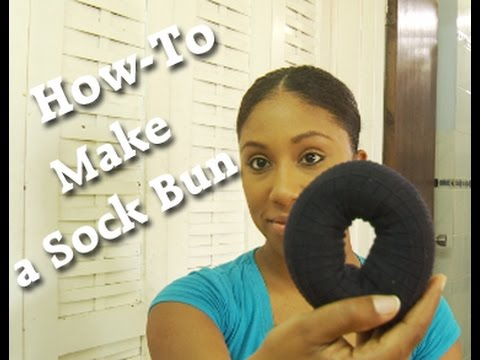 How-To | Make a Sock Bun
