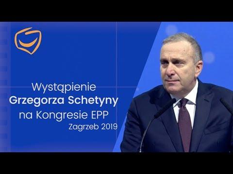 Przewodniczący Grzegorz Schetyna na Kongresie EPP - European People's Party