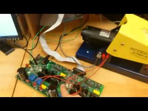 Use dSPACE to control the speed of a DC Motor