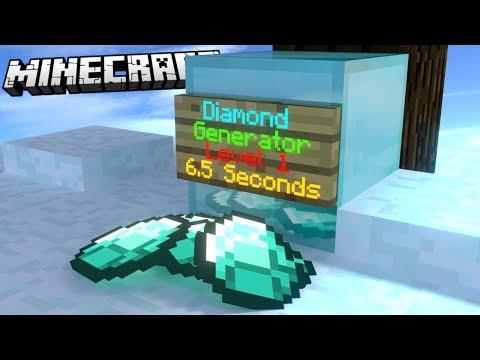 MAKE A DIAMOND GENERATOR IN YOUR MINECRAFT 1.11.2/1.12 WORLD! | VANILLA MINECRAFT