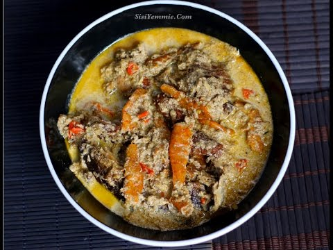 EGUSI PEPPERSOUP RECIPE  (OILESS EGUSI SOUP)