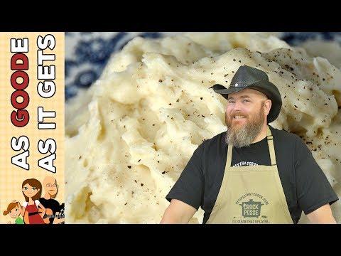 Crock Pot No Boil Mashed Potatoes