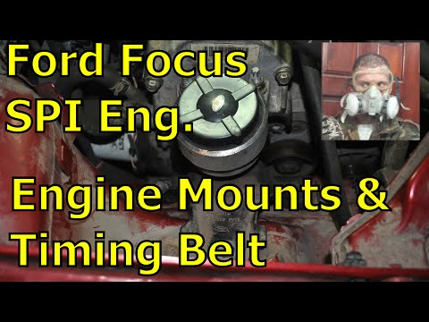 2004 Ford Focus - Engine Mounts and Timing Belt Replacement